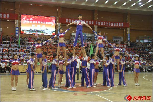 陕钢集团首届员工篮球赛隆重开幕