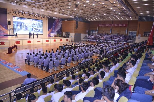 陕钢集团首届安全双述竞赛活动在公...